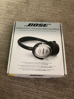 Bose quit comfort 3 acoustic noise cancelling for Sale in Lakewood, CO
