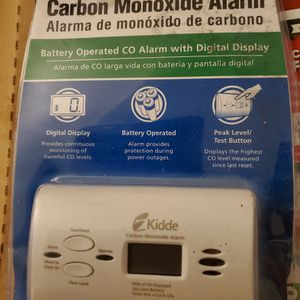 KIDDE Carbon Monoxide alarm for Sale in Stanton, CA
