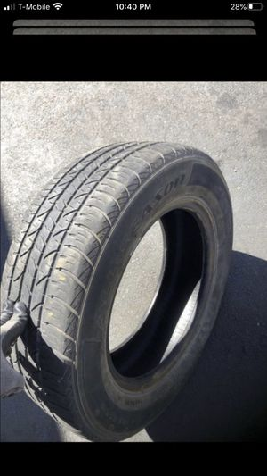 Two tires 195/65/15 Douglas 60% tread on both for Sale in Temecula, CA