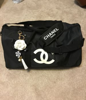 New never been used chanel sport duffle bag vip gift for Sale in Stockton, CA