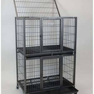 Puppies Dog Pet Cage Kennel Size 31 Inch Two Tiers New In Box 📦 for Sale in Montclair, CA