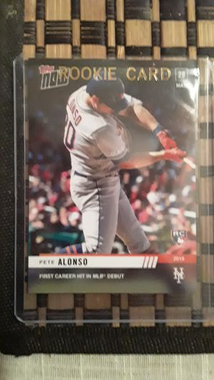 Pete Alonso baseball card for Sale in Irwindale, CA