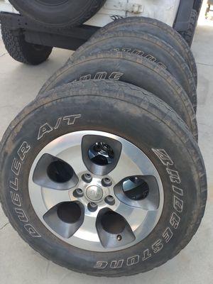 Jeep Wrangler Sahara Wheels for Sale in Downey, CA