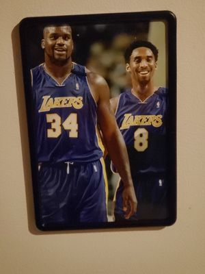 Kobe Bryant Magnetic framed Picture of Kobe Bryant size 4 x 6in for Sale in Los Angeles, CA