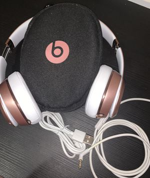Beats By Dr. Dre Solo3 Rose Gold Headphones for Sale in Miami, FL
