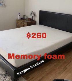 💥Brand new Blue Gel Memory Foam Mattress💥 Queen Mattress only-$260 Mattress & box spring-$320 Full Mattress only-$235 Mattress & box spring for Sale in Cypress,  CA