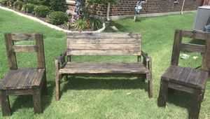 Handcrafted outdoor furniture for Sale in Lake Dallas, TX