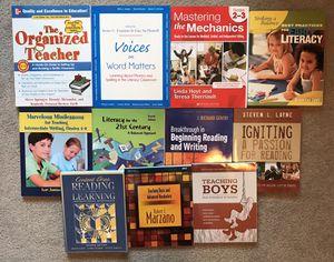 LOT OF 11 TEACHER / EDUCATOR BOOKS for Sale in Modesto, CA