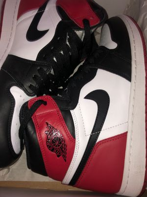 Black Toe Retro 1's size 11.5 for Sale in E RNCHO DMNGZ, CA