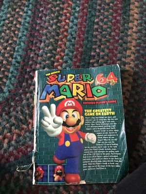 Super Mario 64 players guide for Sale in San Diego, CA
