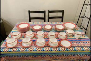 Vintage Pyrex pink flamingo dishes for Sale in Huntington Beach, CA