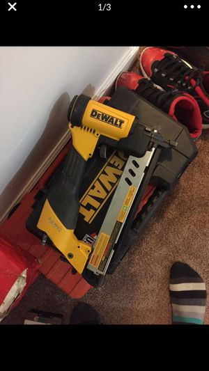 Dewalt nail gun for Sale in Woodbridge, VA
