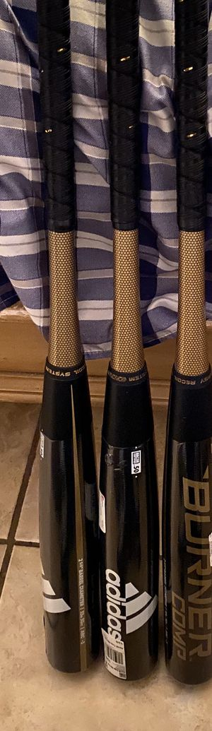 "NewNew Adidas Aero Burner Composite DN7057 33"" 30oz (-3) USSSA Baseball Bat BBCOR for Sale in Davie, FL"