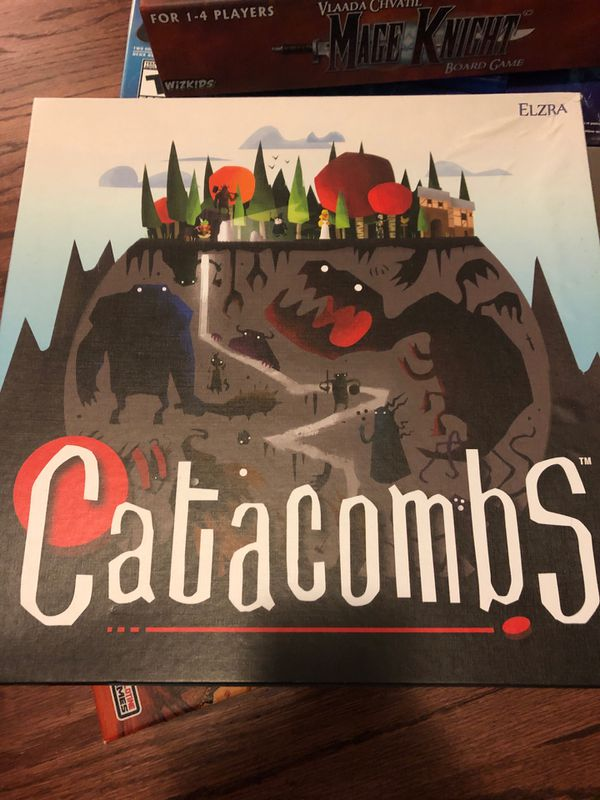 Catacombs board game