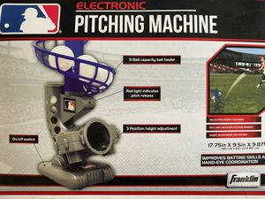 Pitching machine and pitch back throwing trainer for Sale in San Jose, CA