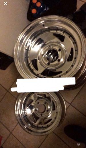 Rims 15x8.0 wide for Sale in Laton, CA