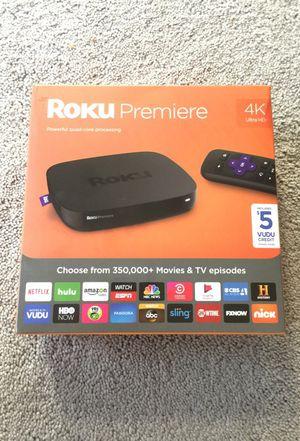 BRAND NEW ROKU Premiere 4K Ultra HD for Sale in Troy, MI
