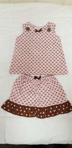 3 lil Muses 2T skirt and tank clothes for Sale in Cornelius, NC