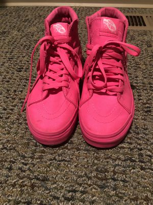 Hot pink vans for Sale in Washington Boro, PA
