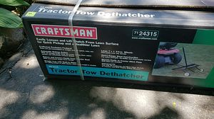 Craftsman Tractor Tow Dethatcher for Sale in Perryville, MD