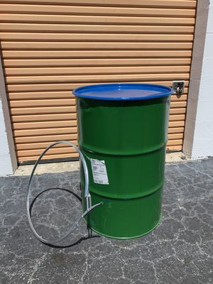 55 gallon metal open top drums for Sale in Miami, FL