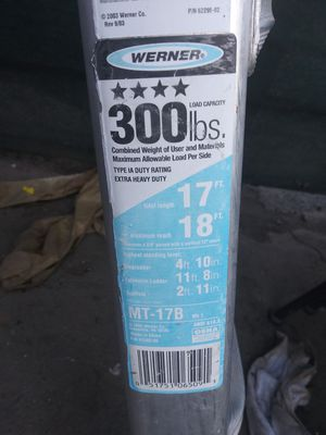 Wagner ladder for Sale in Fresno, CA