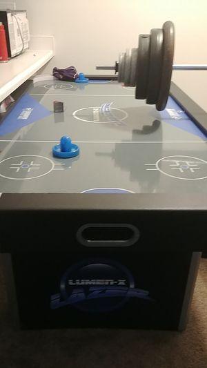 Lumen x laser air hockey table for Sale in Davison, MI