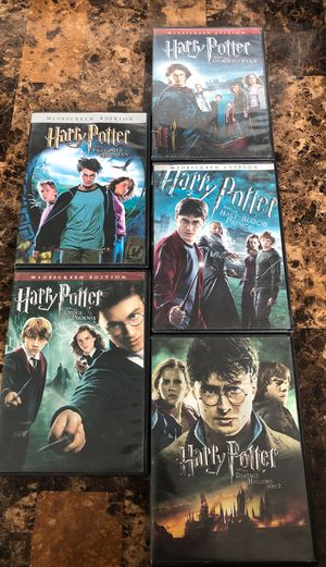 Harry Potter movies for Sale in Houston, TX