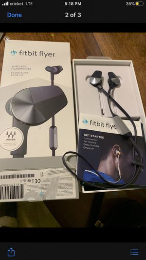 Fitbit wireless headphones for Sale in East Liberty, PA