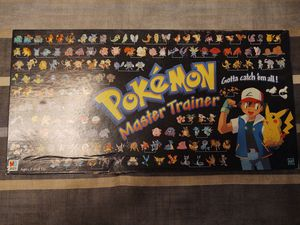 ***POKÉMON VINTAGE MASTER TRAINER BOARD GAME*** for Sale in Oyster Bay, NY