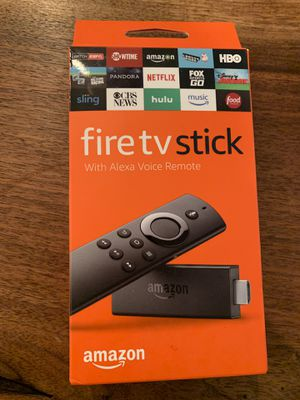 Amazon Fire TV Stick 2nd gen with Alexa Voice Remote, streaming media player for Sale in Philadelphia, PA