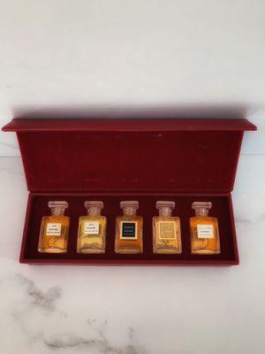 Vintage Chanel mini perfume set for Sale in Sacramento, CA