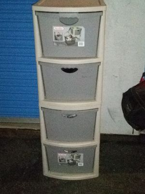 4 drawer storage containers for Sale in Riverside, CA