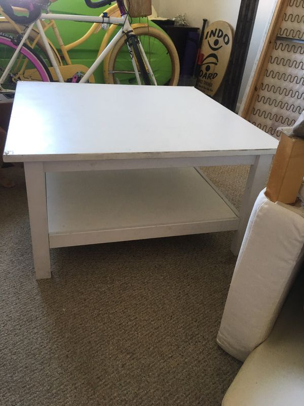 Table with glass top