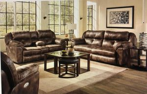 Furniture sofa loveseat and chair leather $39 down payment finance available for Sale in Richardson, TX