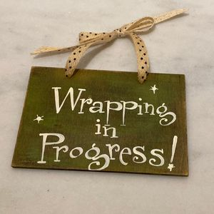 Small Wooden Decorative Sign for Sale in Dana Point, CA