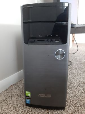 ASUS Gaming Desktop and Gaming Monitor ACER with wired colored keyboard and mouse for Sale in Parma, OH