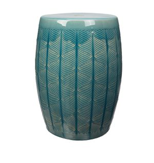"Marina Ceramic Garden Stool 17"" Outdoor Patio Furniture for Sale in Hazelwood, MO"