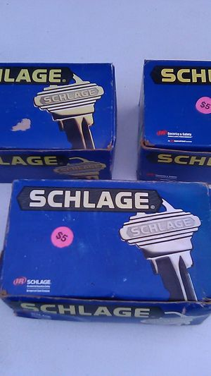 (3)-Schlage interior door knobs for Sale in Oxford, MA