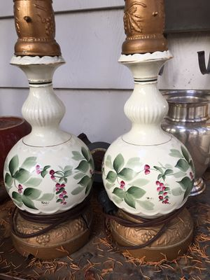 Vintage ceramic lamp bases. $25 for Sale in Columbus, OH