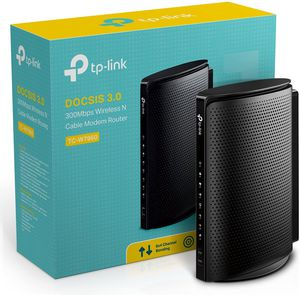 TP Link Modem Router / WiFi Internet Router 300 Mbps wireless speeds. Great Condition. for Sale in West Hollywood, CA