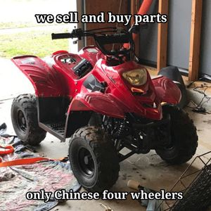 Chinese four wheeler parts for Sale in Apex, NC