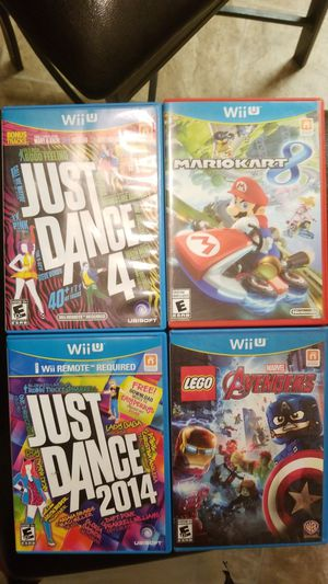 NINTENDO WII U GAMES for Sale in Fresno, CA