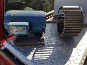 Leeson jl45 3hp Motor $125 Pickup in Oakdale for Sale in Oakdale, CA