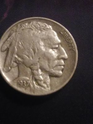 1937 Indian Head/Buffalo Nickel for Sale in Beaumont, TX