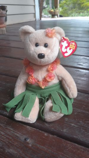 Original 2006 TY Alana Beanie Babies Bear for Sale in Due West, SC