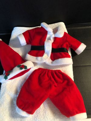 Beanie babies Santa suit for Sale in Mundelein, IL