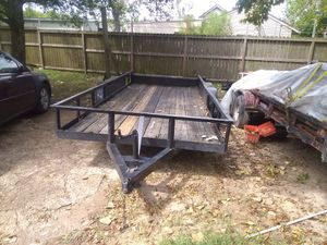16 ft Trailer (No Title). Excellent condition! for Sale in Houston, TX
