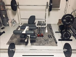 Weight lifting set - 400+ lbs for Sale in Riverview, FL