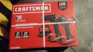 Craftsman drill impact 20v for Sale in North Las Vegas, NV